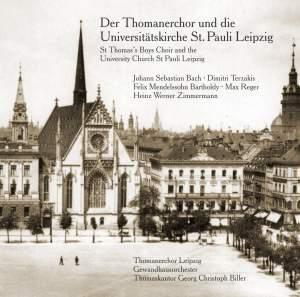 The St Thomas Boys Choir and the University Church St Pauli Leipzig