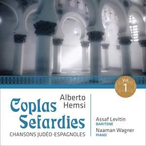 Alberto Hemsi: Coplas Sefardies, Vol. 1