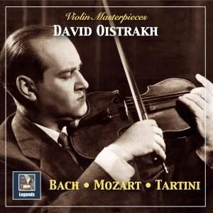 Violin Masterpieces: Oistrakh Plays Bach, Mozart & Tartini