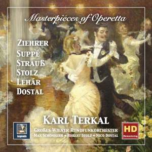 Masterpieces of Operetta: Ziehrer, Suppé, Strauss, Stolz, Lehár & Dostal (Remastered 2018) Product Image