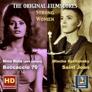 Strong Women: Saint Joan & Boccaccio 70 – The Original Film Scores (Remastered 2016)
