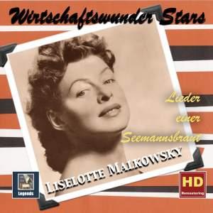 """Wirtschaftswunder Stars: Liselotte Malkowsky - """"Lieder einer Seemannsbraut"""" (Remastered 2017)"""