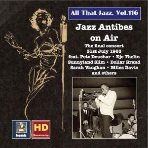 All That Jazz, Vol. 116: Jazz Antibes on Air – The Final Concert, 31st July 1963 (2019 Remaster) [Live] Product Image