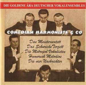 Die Goldene Ara Deutscher Vokalensembles (1931-1941)
