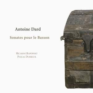 Dard: 6 Sonatas for Bassoon & Basso Continuo