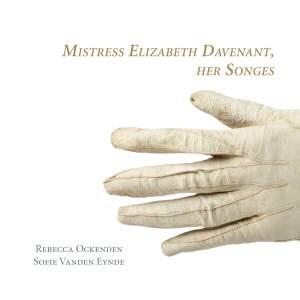 Mistress Elizabeth Davenant, Her Songes Product Image
