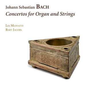 JS Bach: Concertos for Organ and Strings Product Image