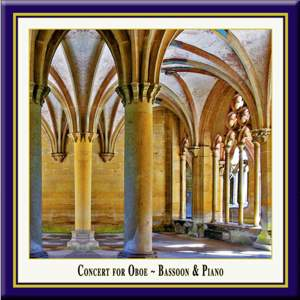 Concert for Oboe, Bassoon & Piano Product Image