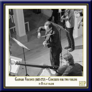 Visconti: Concerto for Two Violins in B flat major Product Image