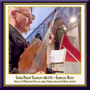 Telemann: Essercizii musici, Trio No. 4 in G Major, TWV 42:G6