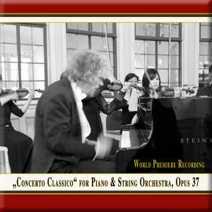 Vorraber: Concerto classico for piano & string orchestra, Op. 37 Product Image