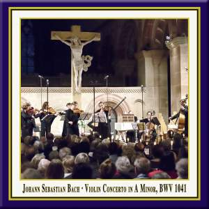 Bach: Violin Concerto No. 1 in A Minor, BWV 1041 (Live) Product Image