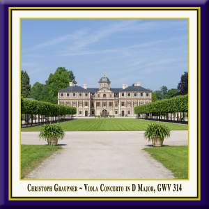 Graupner: Viola Concerto in D Major, GWV 314 (Live) Product Image