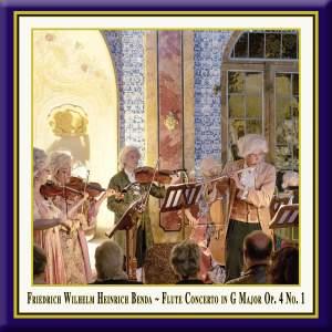 Benda: Flute Concerto in G Major, Op. 4 No. 1 (Live) Product Image