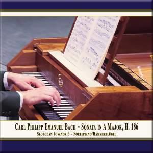 C.P.E. Bach: Keyboard Sonata in A Major, Wq. 55 No. 4, H. 186 Product Image