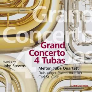Stevens: Grand Concerto 4 Tubas - Adagio for Strings - Jubilare!