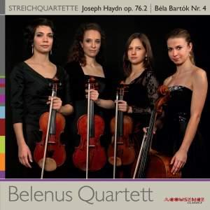 Haydn: String Quartet No. 61 - Bartók: String Quartet No. 4