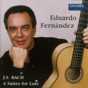 Bach, J S: Lute Suites Nos. 1-4, BWV995-997 & 1006a Product Image