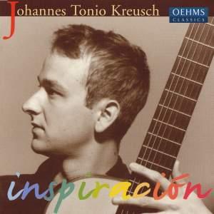Guitar Recital: Kreusch, Johannes Tonio - Kreusch / Barrios / Tarrega / Brouwer / Albeniz Product Image