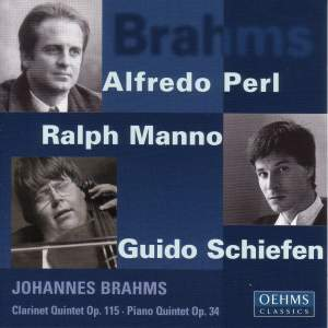 Brahms: Clarinet & Piano Quintets Product Image