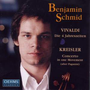Vivaldi: The 4 Seasons & Paganini: Violin Concerto No. 1 Product Image