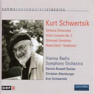 Schwertsik: Sinfonia-Sinfonietta, Violin Concerto No. 2, Schrumpf-Symphony Product Image