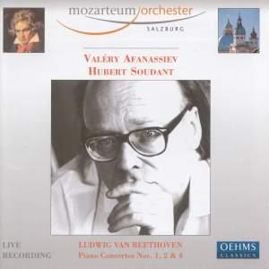 Beethoven - Piano Concertos Nos. 1, 2 & 4 Product Image