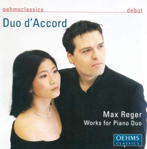 Max Reger - Works for Piano Duo Product Image