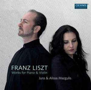 Liszt: Works for Piano & Violin Product Image