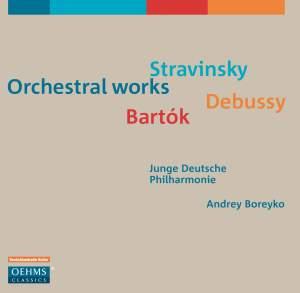 Stravinsky, Debussy & Bartók: Orchestral Works Product Image