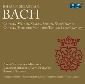 JS Bach: Cantatas, BWV 12 & 147