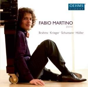 Fabio Martino plays Brahms, Krieger, Schumann & Höller