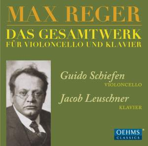 Reger: Works for Cello & Piano