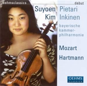 Mozart: Violin Concerto No. 4, Symphony No. 8, Hartmann: Suite No. 2