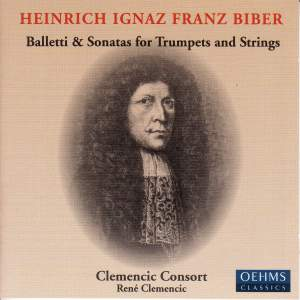 Biber: Balletti & Sonatas for Trumpets and Strings Product Image