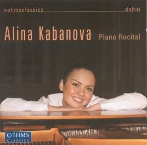 Alina Kabanova: Piano Recital Product Image