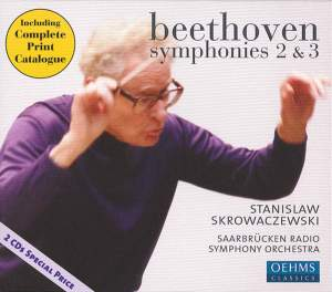 Beethoven: Symphonies Nos. 2 & 3