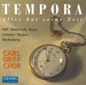 Tempora - alles hat seine Zeit (for everything there is a time) Product Image