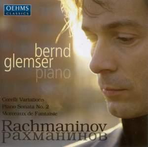 Rachmaninov: Variations on a theme of Corelli, Piano Sonata No. 2 Product Image
