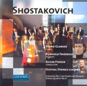 Shostakovich: Works for Piano and String Orchestra Product Image