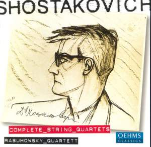 Shostakovich: String Quartets Nos. 1-15 (complete) Product Image