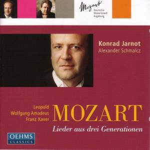 L. Mozart/W.A. Mozart/F. Mozart - Lieder from Three Generations