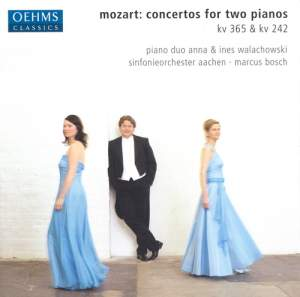 Mozart: Concerto for 2 pianos & Concerto for 3 pianos Product Image