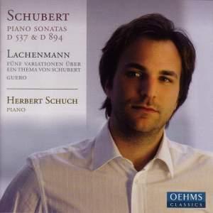 Schubert - Piano Sonatas Nos. 4 & 18