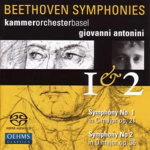 Beethoven - Symphonies Nos. 1 & 2 Product Image