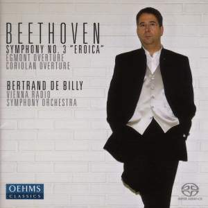 Beethoven: Symphony No. 3 in E flat major, Op. 55 'Eroica', etc. Product Image