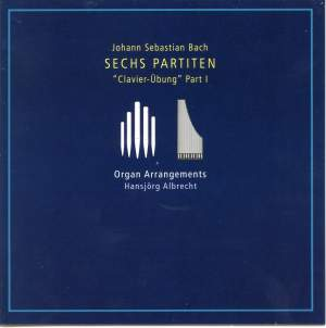 Bach, J S: Partitas Nos. 1-6, BWV825-830 Product Image