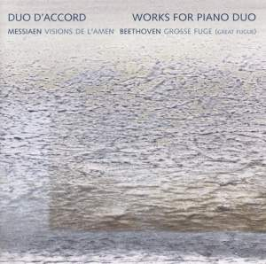 Messiaen & Beethoven - Works for Piano Duo Product Image