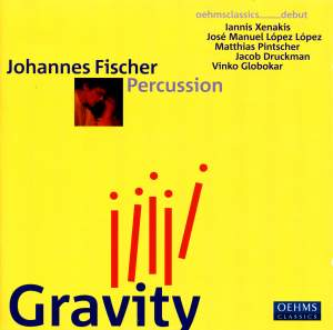 Gravity - Works for Percussion Product Image