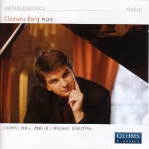 Clemens Berg plays Chopin, Berg, Webern, Trojahn & Ginastera Product Image